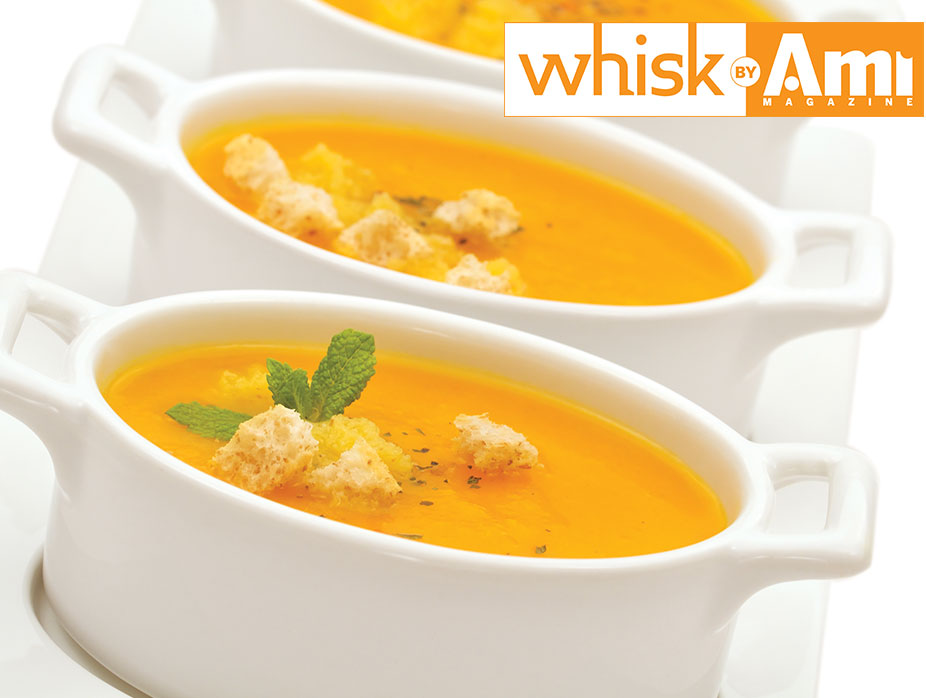 Sweet Potato Carrot Ginger Bisque