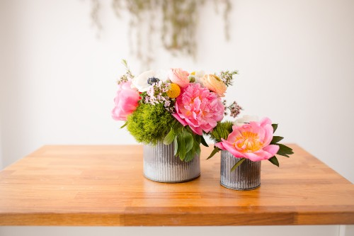 My All Time Favorite Flowersu2014peonies, Ranunculus, And Anemonesu2014come  Together In This Bright, Airy, Garden Arrangement. What Really Elevates  This Design?