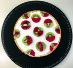 Geometric Ice Cream Fruit Pie