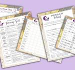Printables to Keep You Organized This Passover!