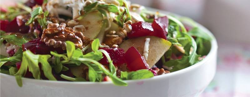 12 Salads to Make with Pears