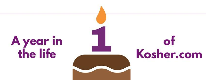 Family Table Celebrates One Year of Kosher.com!