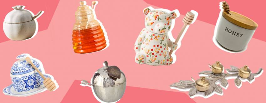 20 Prettiest Honey Dishes You Can Buy For Rosh Hashanah