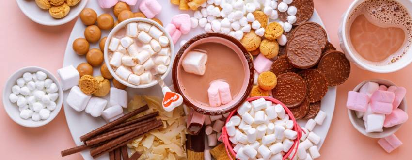 How to Make a Hot Chocolate Board