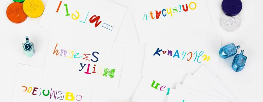 Chanukah Unscramble Game + Free Printables!