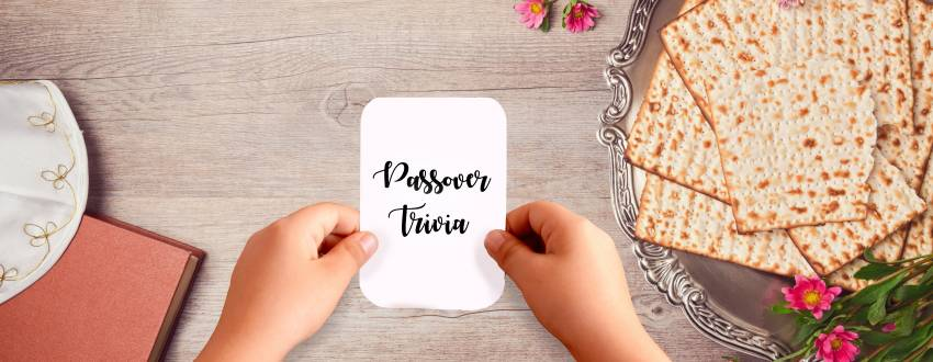 The Passover Trivia Game Your Kids Will Love