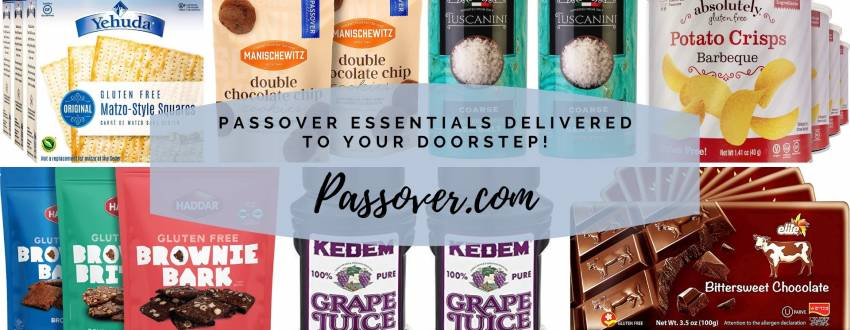 Reinventing the Passover Shopping Experience With Passover.com!