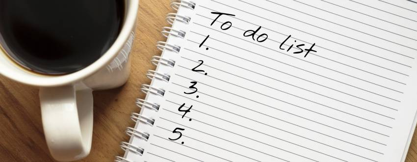 The Total Tishrei To-Do List