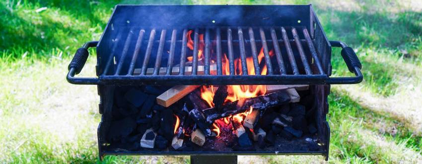 Can One Use a Public Grill?