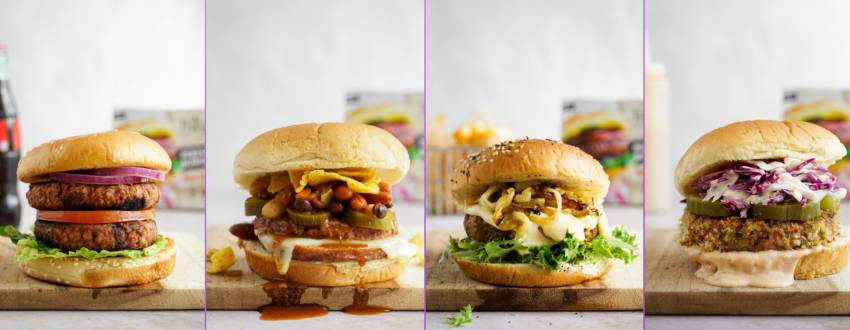 4 Incredible Ways to Cook Veggie Burgers for the 9 Days