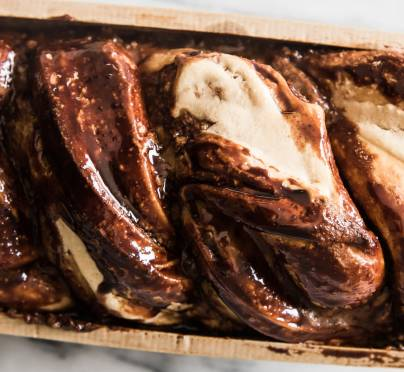 The Shavuot Dessert of Your Dreams: Silan Cheesecake Babka
