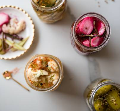 Vinegar-Free Pesach Pickles