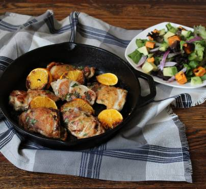 Winging It! Citrus Chicken