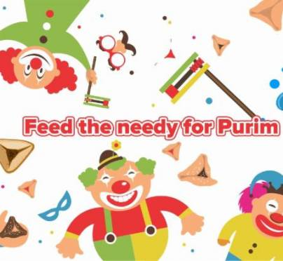 The Ultimate Matanos L'evyonim Opportunity! Feed the Poor on Purim Day