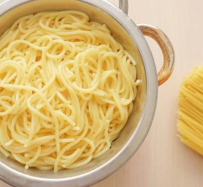 I Made Spaghetti in a Pot that Had Not Been Used for Fleishig for 24 hours. Can My Son Take Some Out and Add Cheese to it?