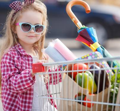 How To Avoid Catastrophe When Grocery Shopping with Kids