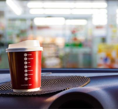 Drinking Coffee on the Road