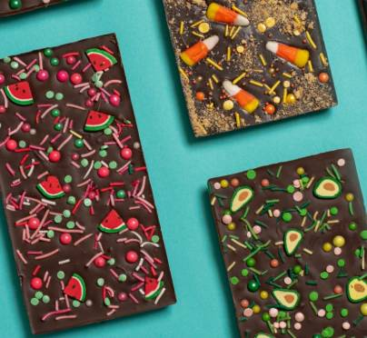 Purim Costume Themed Candy Bars