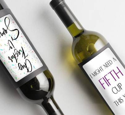 Wine Label Printables for Passover