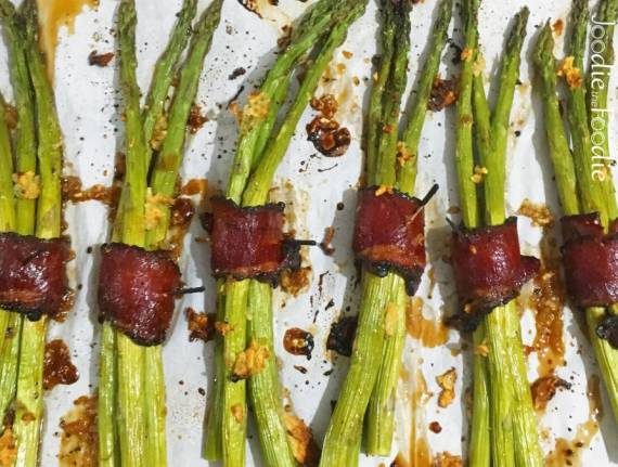 Pastrami and Asparagus Bundles