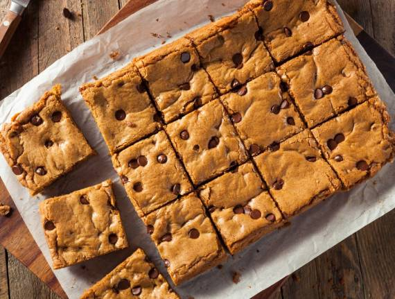 Irene's Delectable Gluten-Free Chocolate Chip Blondies