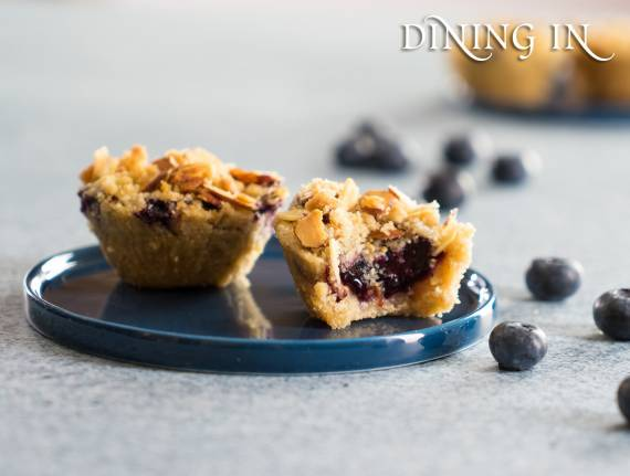 Blueberry Lemon Crumbles