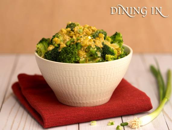 Broccoli with Dijon Vinaigrette