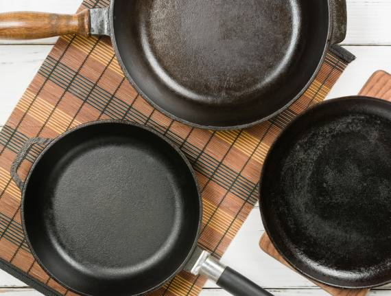 Your Food Will Taste Better inCast Iron Cookware