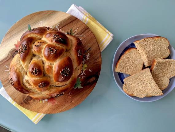Perfect Whole-Wheat Challah