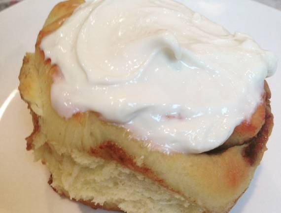 Ooey Gooey Cinnamon Buns with Cream Cheese Frosting