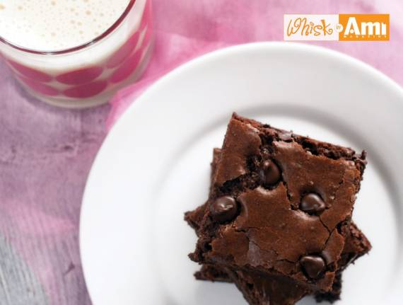 Gluten-Free Dark Chocolate Brownies