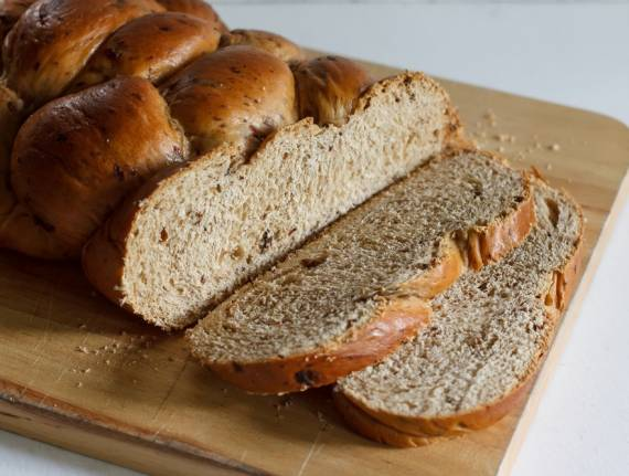 Delicious Whole Wheat Challah