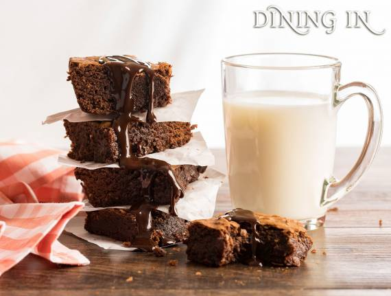 Easy Double Chocolate Brownies