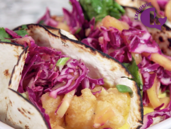 Fish or Cauliflower Tacos