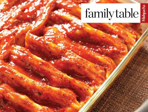 Red Magic Manicotti