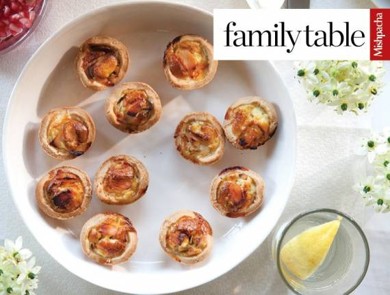 Onion and Pastrami Tartlets