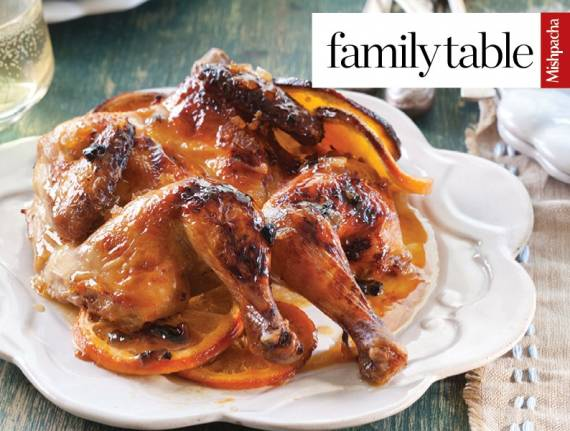 Citrus Cornish Hens
