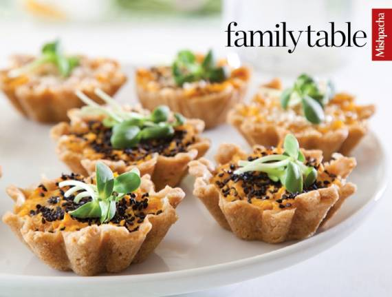 Savory Sweet Potato Tartlets