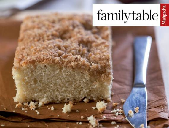 Simple No-Mixer Streusel Cake