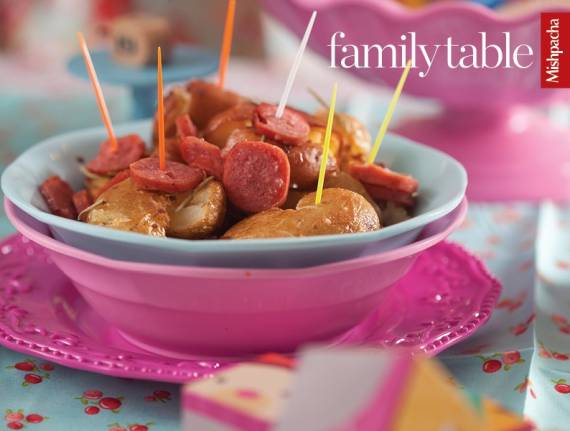 Herbed Baby Potatoes and Sausages