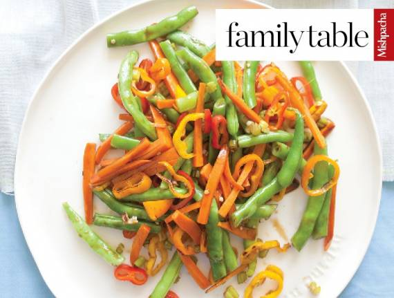 Colorful Teriyaki String Beans