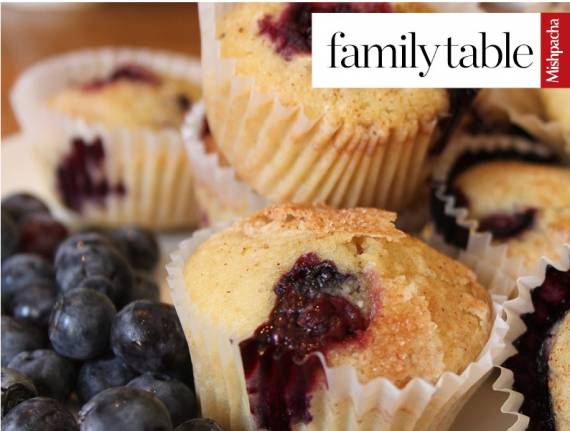 Perfect Pesach Blueberry Muffins (Gluten Free)