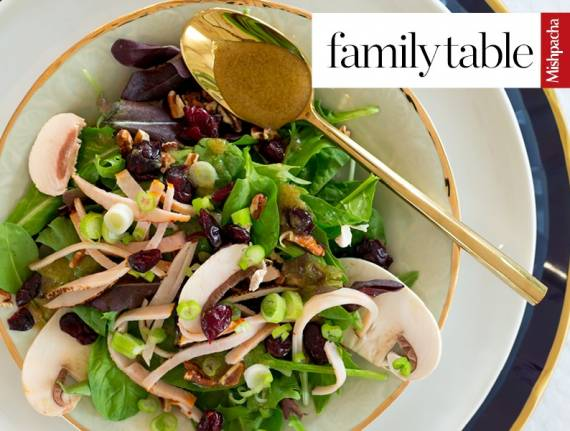 Cold Cut Salad with Maple Dressing