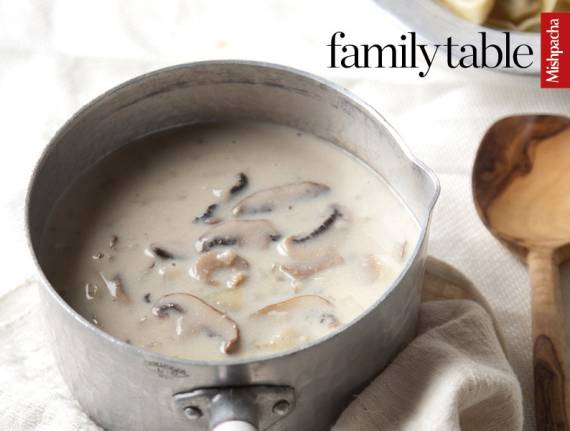 No-Bouillon Cream of Mushroom Soup
