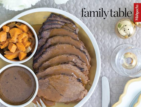 Roast With Orange-Wine Sauce