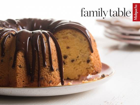 Chocolate Chip Bundt Cake with Chocolate Drizzle