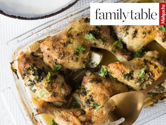 Shallot and Fennel Chicken