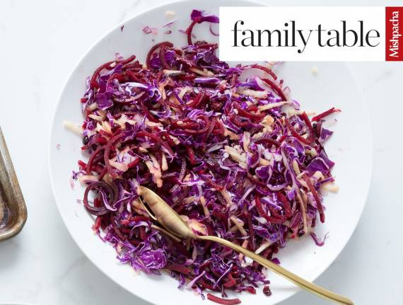 Red and Purple Cabbage Salad