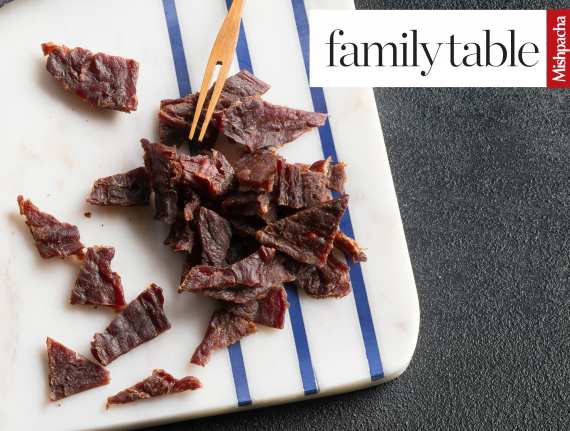 Product-Free Beef Jerky