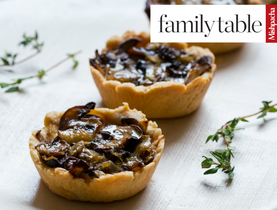 Mini Mushroom and Leek Tarts